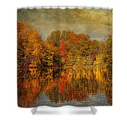 Autumn - Landscape - Tamaques Park - Autumn In Westfield Nj  Shower Curtain