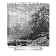 Autumn, 1873 Shower Curtain
