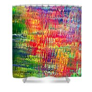 Autumn Abstarcts Shower Curtain