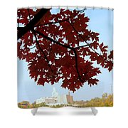 Autumn Afternoon In Peterborough Shower Curtain
