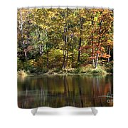 Autumn Ambience Shower Curtain
