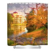 Autumn And Architecture Shower Curtain