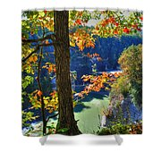 Autumn At Letchworth State Park Shower Curtain