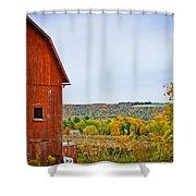 Autumn At The Farm Shower Curtain