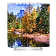 Autumn At Yosemite Shower Curtain