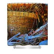 Autumn Basket Shower Curtain