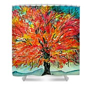 Autumn Beauty Shower Curtain