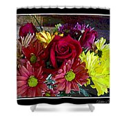 Autumn Boquet Shower Curtain