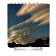 Autumn Clouds Jasper 1 Shower Curtain