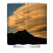 Autumn Clouds Jasper 2 Shower Curtain
