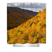 Autumn Colours At North Mountain Shower Curtain