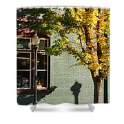 Autumn Detail In Old Town Grants Pass Shower Curtain