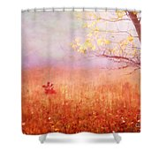 Autumn Dreams Shower Curtain by Darren Fisher
