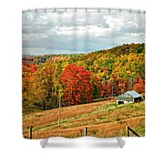 Autumn Farm 2 Shower Curtain