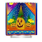 Autumn Greetings Shower Curtain