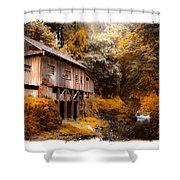 Autumn Grist Shower Curtain by Steve McKinzie