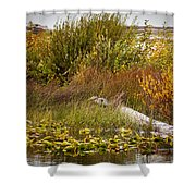 Autumn Hunting Shower Curtain