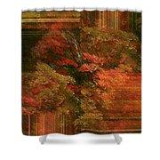 Autumn Illusion Shower Curtain