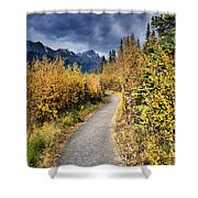 Autumn In Alberta Shower Curtain