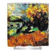 Autumn In Ardennes 672101 Shower Curtain