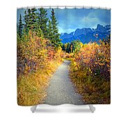 Autumn In Canada Shower Curtain