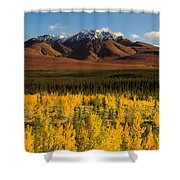 Autumn In Duke Creek Shower Curtain