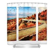 Autumn In North Carolina Shower Curtain