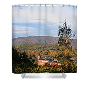 Autumn In Plymouth Shower Curtain