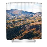 Autumn In Rocky Mountain National Park Shower Curtain
