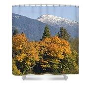 Autumn In The Illinois Valley Shower Curtain
