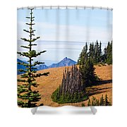Autumn In The Olympics Shower Curtain