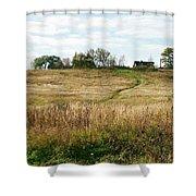 Autumn In The Village Shower Curtain