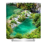 Autumn Landscape Shower Curtain