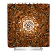 Autumn Mandala 3 Shower Curtain