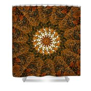 Autumn Mandala 4 Shower Curtain
