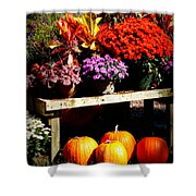 Autumn Market Shower Curtain