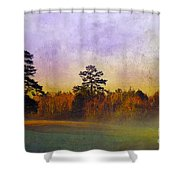 Autumn Morning Mist Shower Curtain by Judi Bagwell