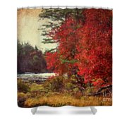 Autumn Of Yesteryear Shower Curtain