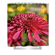 Autumn Pink Shower Curtain