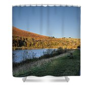 Autumn Pond 4 Shower Curtain