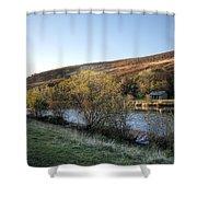 Autumn Pond 6 Shower Curtain