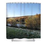 Autumn Pond 7 Shower Curtain
