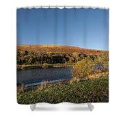 Autumn Pond 9 Shower Curtain