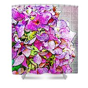 Autumn Purple II Shower Curtain