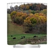 Autumn Range Shower Curtain