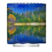 Autumn Reflected 2 Shower Curtain