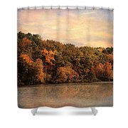 Autumn Reflections 1 Shower Curtain by Jai Johnson