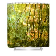 Autumn Reflections New Hampshire Shower Curtain