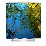 Autumn Reflections New Hampshire II Shower Curtain