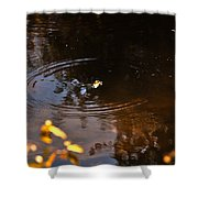 Autumn Rings Shower Curtain